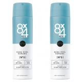 8X4 Men Dry Cool Deodorant No 9 150 ml x 2 Adet