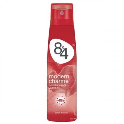 8x4 Modern Charme Pudrasız Kadın Deodorant 150 ml