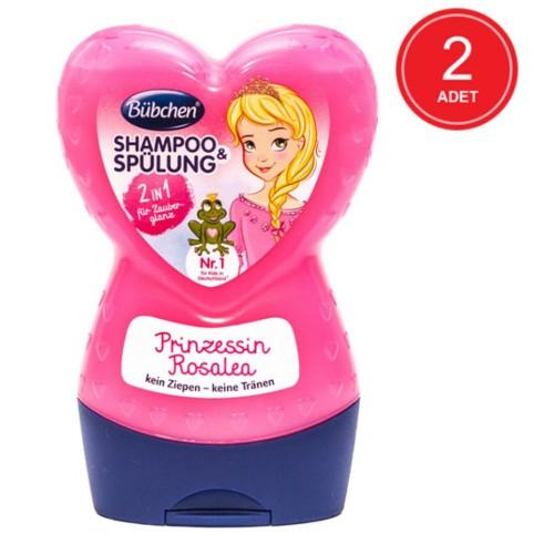 Bübchen Prenses Rosalea Çocuk Şampuanı + Balsam 230 ml x 2 Adet