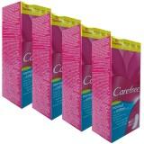 Carefree Fresh Scent Normal Cotton 3D Comfort Günlük Ped 20 li x4 Adet
