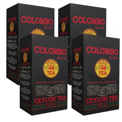 Colombo Seylan Yaprak Çayı 500 gr x 4 Adet