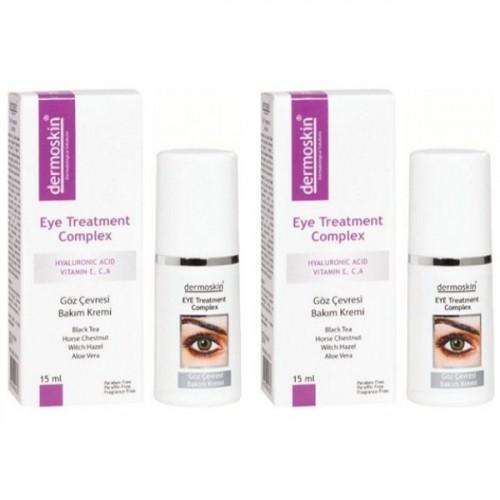 Dermoskin Eye Treatment Complex Göz Kremi 15 ml x 2 Adet