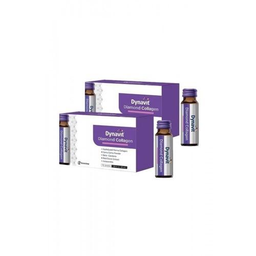 Dynavit Diamond Collagen 50 ml x 10 Şişe x 2 Adet