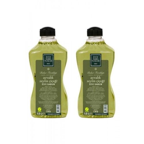 Eyüp Sabri Tuncer Sıvı Sabun Ayvalık Zeytin Çiçeği 1500 ml x 2 Adet