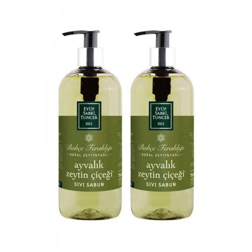 Eyüp Sabri Tuncer Sıvı Sabun Ayvalık Zeytin Çiçeği 500 ml x 2 Adet