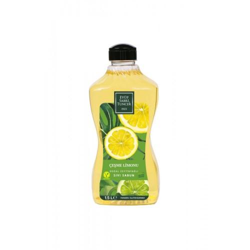 Eyüp Sabri Tuncer Sıvı Sabun Çeşme Limonu 1500 ml