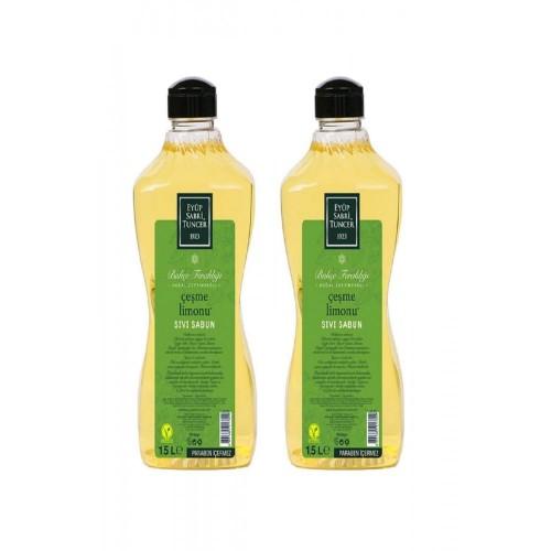 Eyüp Sabri Tuncer Sıvı Sabun Çeşme Limonu 1500 ml x 2 Adet