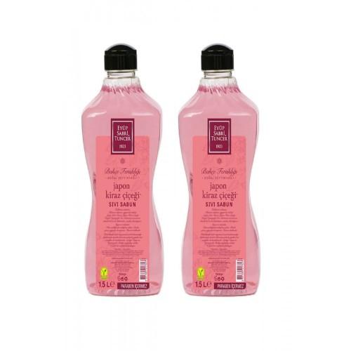 Eyüp Sabri Tuncer Sıvı Sabun Japon Kiraz Çiçeği 1500 ml x 2 Adet