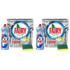 Fairy Platinum Tablet 60 lı + Fairy Platinum 1000 ml +Sünger x2 Adet