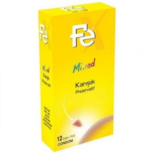 Fe Mixed Karışık Prezervatif 12 li