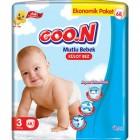 Goon Mutlu Bebek Külot Bez Ekonomik Paket 3 Beden 68 Adet