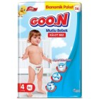 Goon Mutlu Bebek Külot Bez Ekonomik Paket 4 Beden 56 Adet