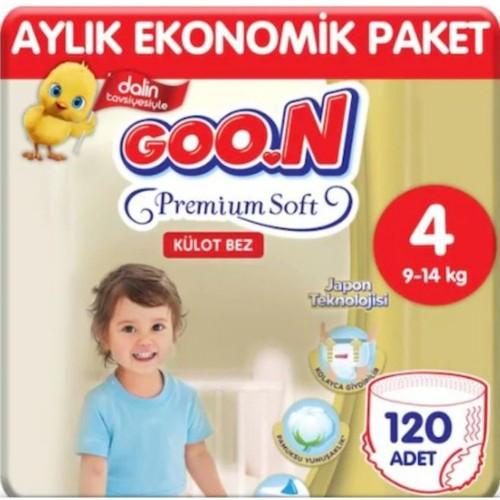 Goon Premium Soft Külot Bez 4 Beden 20 li x 6 Adet