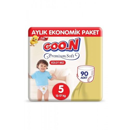Goon Premium Soft Külot Bez 5 Beden 15 li x 6 Adet