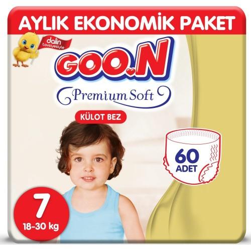 Goon Premium Soft Külot Bez 7 Beden 10 lu x 6 Adet