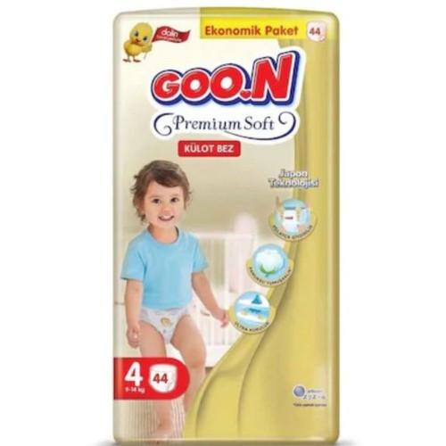 Goon Premium Soft Külot Bez Ekonomik Paket 4 Beden 44 Adet