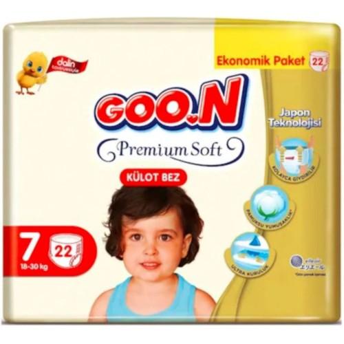 Goon Premium Soft Külot Bez Ekonomik Paket 7 Beden 22 Adet