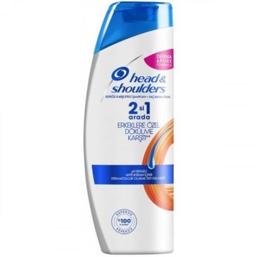 Head&Shoulders Saç Dökümelerine Karşı 2si 1Arada Erkekler İçin Şampuan