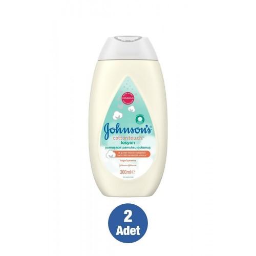 Johnsons Baby Cotton Touch Yenidoğan Bebek Losyonu 300 ml x 2 Adet