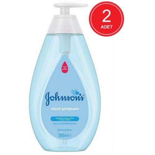 Johnsons Baby Regular Vücut Şampuanı 500 ml x 2 Adet