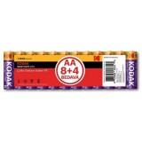 Kodak Çinko Karbon Blister Kalem Pil 12 Adet