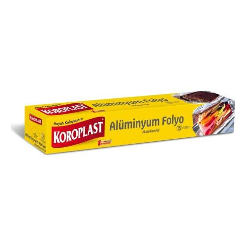 Koroplast Alüminyum Folyo 15 mt x 2 Adet