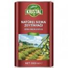 Kristal Natürel Sızma Zeytinyağı Teneke 3 lt