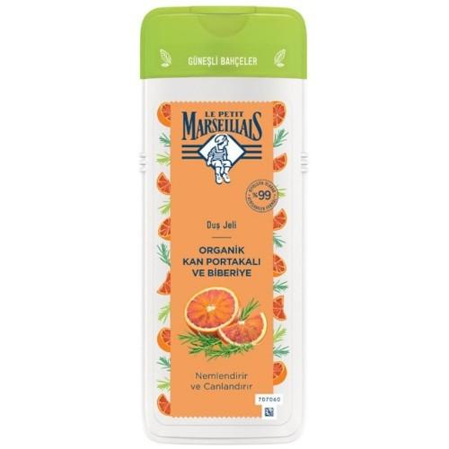 Le Petit Marseillais Organik Kan Portakalı ve Biberiye Duş Jeli 400 ml