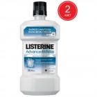 Listerine Advanced White Diş Beyazlatıcı Ağız Bakım Suyu 500 ml 2 li