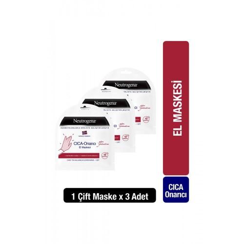 Neutrogena Cica Onarıcı El Maskesi x 3 Adet