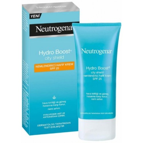 Neutrogena Hydro Boost City Shield Nemlendirici Hafif Krem Spf25 50 ml