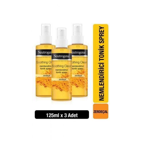 Neutrogena Soothing Clear Tonik 125 ml x 3 Adet