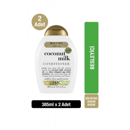 Ogx Besleyici Coconut Milk Bakım Kremi 385 ml x 2 Adet