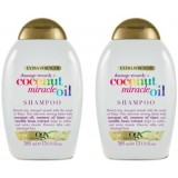 Ogx Coconut Miracle Oil Şampuan 385 ml x 2 Adet