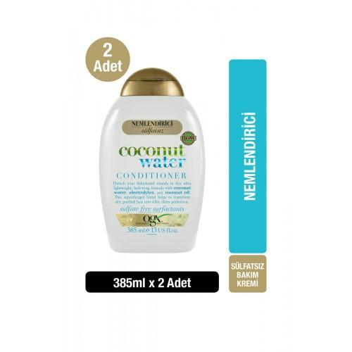 Ogx Coconut Water Saç Kremi 385 ml x 2 Adet