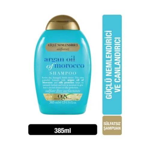 Ogx Extra Güçlü Morocco Argan Oil Morrocco Şampuanı 385 ml x 2 Adet