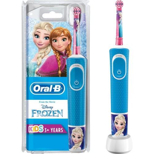Oral-B D100 Çocuklar İçin Şarj Edilebilir Diş Fırçası Frozen Özel Seri