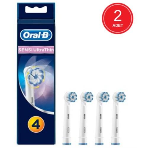 Oral-B Diş Fırçası Yedek Başlığı Sensitive Ultra Thin 4 lü x 2 Adet