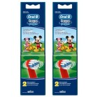 Oral-B Stages Power Diş Fırçası Yedeği 2'li Paket (MICKEY MOUSE) 2 li