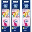 Oral-B Stages Power Diş Fırçası Yedeği 2'li Paket (PRINCESS) x 3 Adet