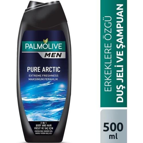 Palmolive Men Pure Arctic Ferahlatıcı Erkek Duş Jeli 500 ml