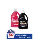 Perwoll Sıvı Çamaşır Deterjanı Siyah + Renkli 3 lt