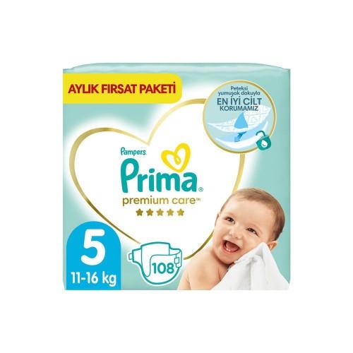 Prima Premium Care Aylık Fırsat Paketi 5 Beden 108 Adet