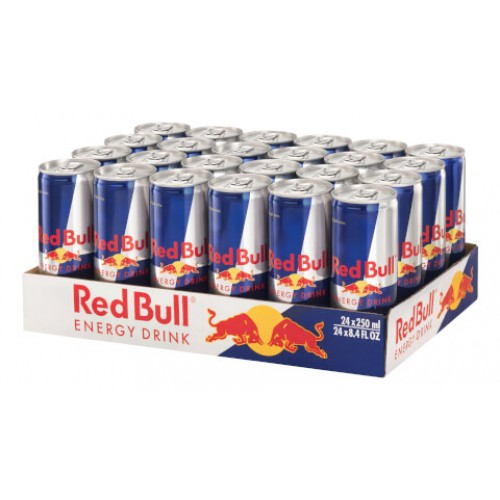 Red Bull Enerji İçeceği 250 ml x 24 Adet