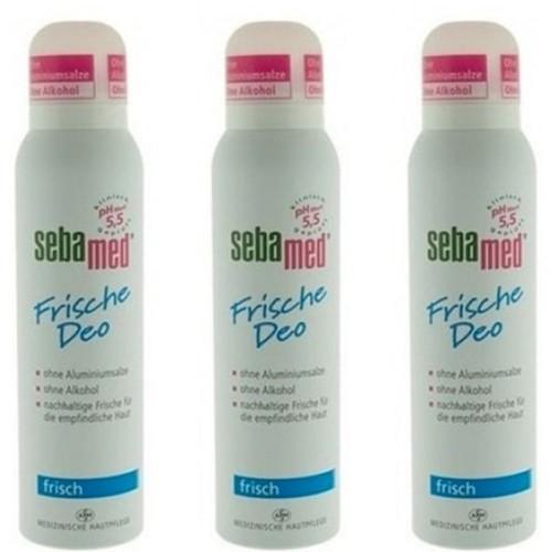 Sebamed Balsam Deodorant Aerosol Fresh 150 ml x 3 Adet