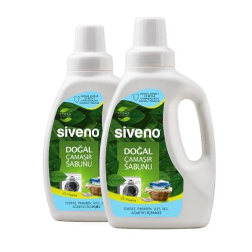 Siveno Doğal Çamaşır Sabunu 750 ml x 2 Adet