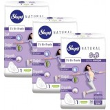 Sleepy Natural Soft İnce Ped Normal 30 lu x 3 Adet