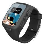 Superkids Akıllı Çocuk Telefonu ve Çocuk Güvenlik Saati - Siyah