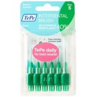 Tepe Interdental Brush Arayüz Fırçası Yeşil 0.8 mm 6 lı
