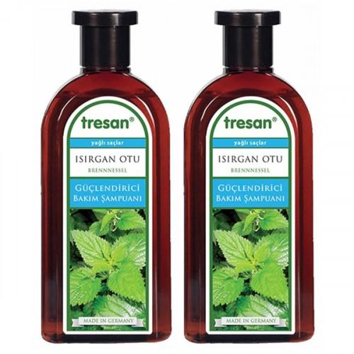 Tresan Isırgan Otu Bakım Şampuanı Yağlı Saçlar İçin 300 ml 2 li